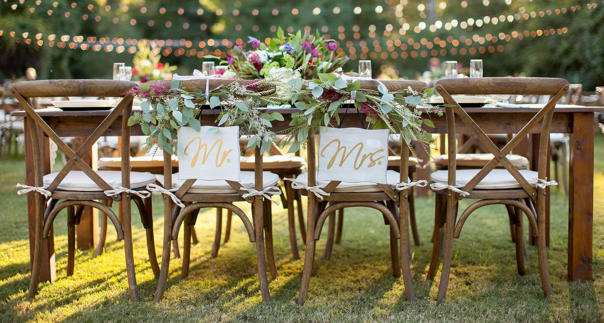 Como escolher o mobiliário certo para seu tipo de evento