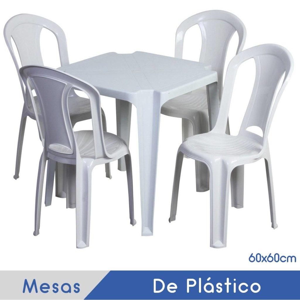 Imagem Mesa de Plástico 60cm (para 4 Lugares)