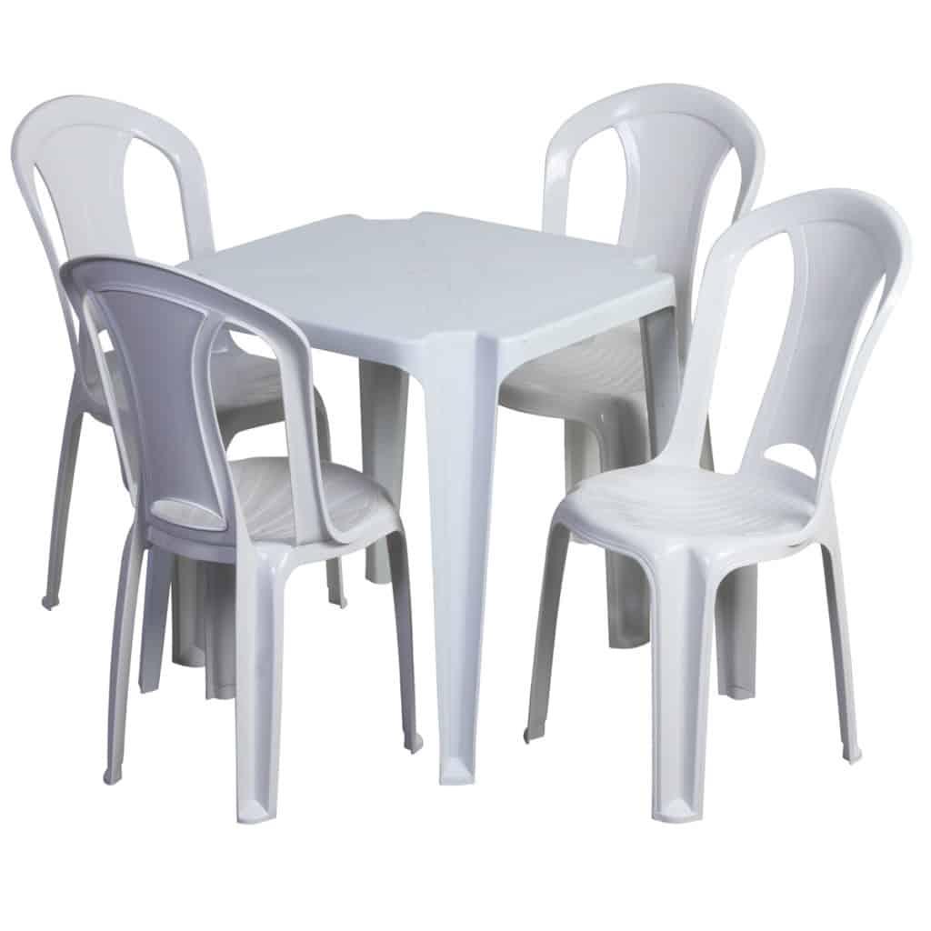 Mesas Quadradas